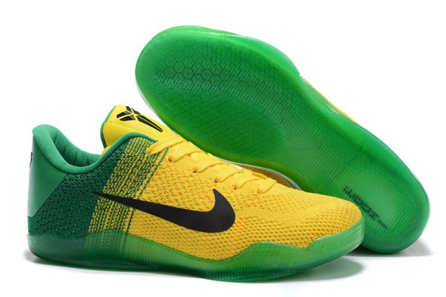 size 40 a06e4 3dca9 Prev Nike Kobe 11 Elite Low All Star Oregon Ducks Yellow Green Black Men  Basketball Shoes 822675. Zoom