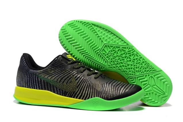 6561bdd3f56f Nike KB Mentality II EP 2 Kobe Bryant Black Green Yellow Men ...