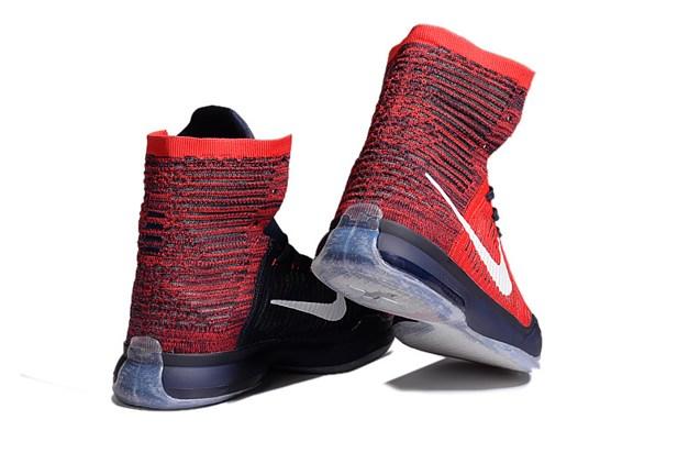 8addaa337a7 Nike Kobe X 10 Elite High American USA University Red Shoes 718763 614