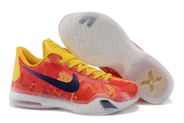 ef790852ee4 Prev Nike Kobe 10 X EP Low Purple Gold Yellow Multi Men Basketball Shoes  745334