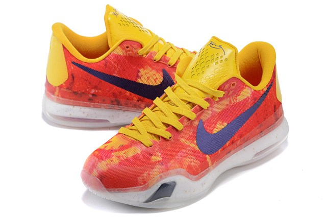 competitive price 86cc9 41c50 ... best nike kobe 10 x ep low purple gold yellow multi men basketball  shoes 745334 3f58f