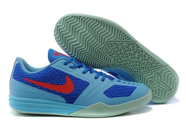 5360cde3a196 Prev Nike Kobe KB Mentality Basketball Shoes Sky Blue Red 704942 400. Zoom