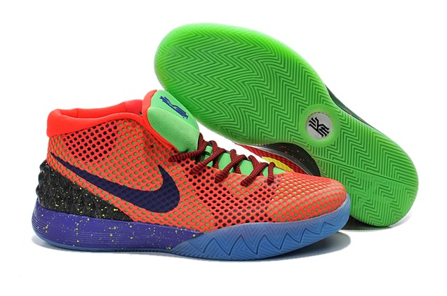 finest selection 5a914 7623d Prev Nike Kyrie Irving 1 I Men Shoes What The Bel Air Orange Yellow Blue  Green 705278. Zoom