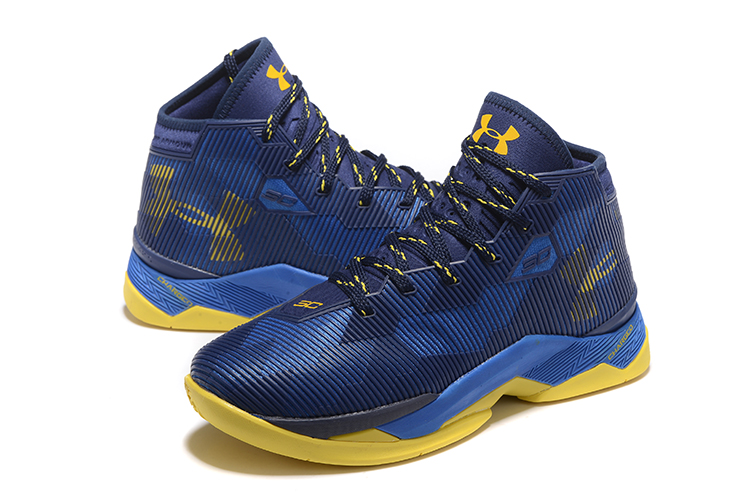 5523178efd1f ... Nike Kyrie 2.5 Light Yellow Navy Blue Men Shoes Basketball Sneakers  1274425 ...