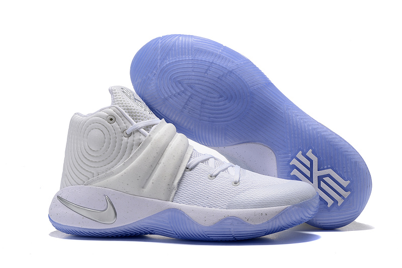 sale retailer 5b36a 9061a Prev Nike Kyrie 2 EP Irving White Silver Speckle Pack Men Basketball Shoes  852399-107. Zoom