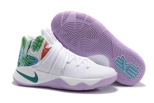 afc4f44cac4f08 Prev Nike Kyrie 2 Easter White Hyper Jade Urban Lilac Bright Mango Men  819583 105