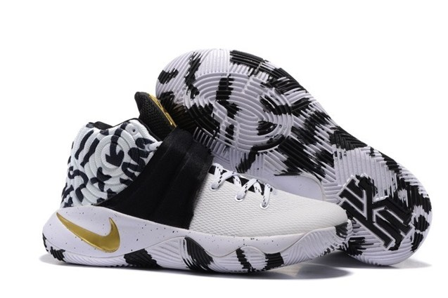 1dca41c5d6c Prev Nike Kyrie 2 II EP White Camo Black Gold Men basketball Shoes 819583  602