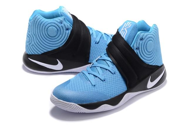 wholesale dealer 8c4d2 a8fde ... Nike Kyrie 2 II Effect EP Ivring UNC Blue Black White Men basketball  Shoes 819583 448 ...
