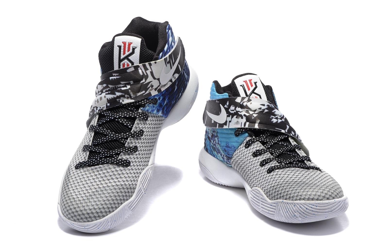 finest selection 86e52 1b5e6 Nike Kyrie II 2 Irving Effect Tie Dye Men Shoes Basketball Sneakers 819583- 901