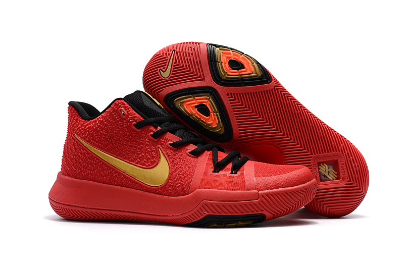 info for 9e781 3331f Nike Zoom KYRIE 3 EP Youth Big RED Kid Shoes