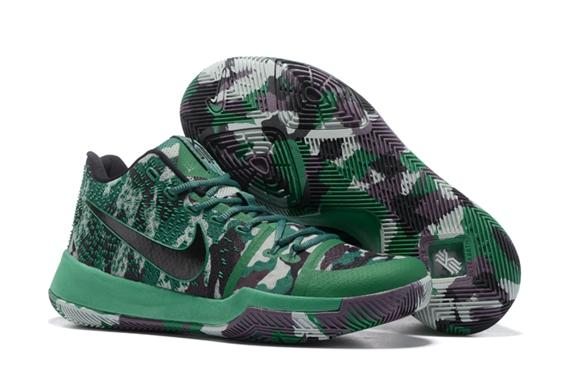best sneakers 094f4 df3c5 Prev Nike Zoom Kyrie 3 Camouflage Green Men ...