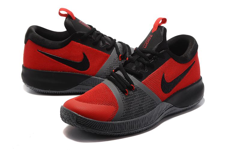 7c3c5d4e301 Nike Zoom Assersion EP Men Basketball Shoes Red Black DeepGrey 911090