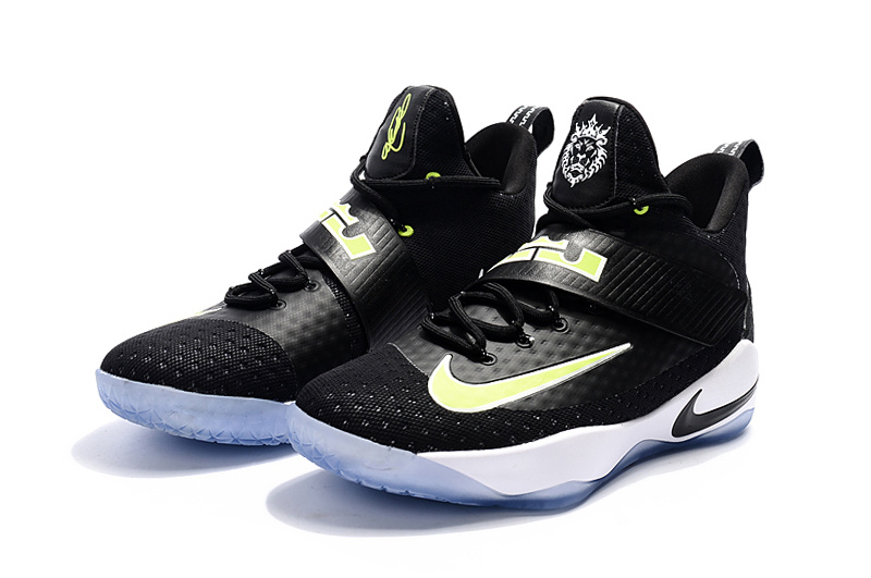 efd729ab8a02c Nike Zoom Lebron Soldier 11 XI black white Men Basketball Shoes