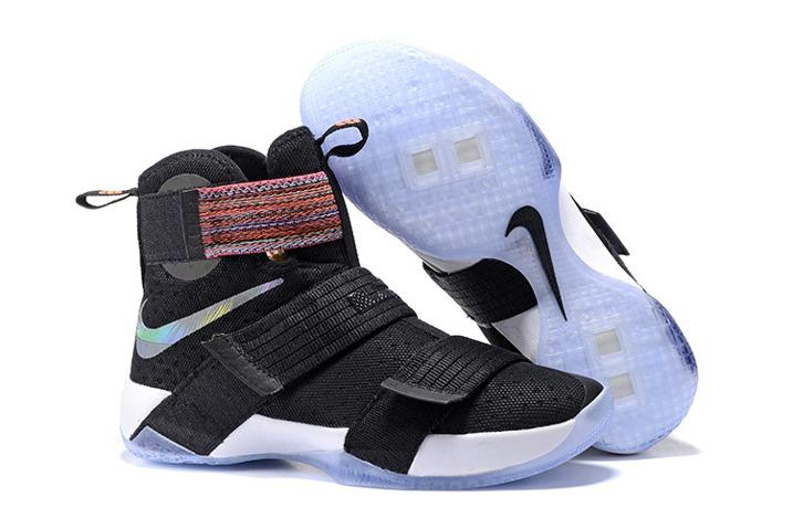 save off 7579e 63dec Nike Lebron Soldier 10 EP Basketball Shoes 2016 Finals Black Purple ...