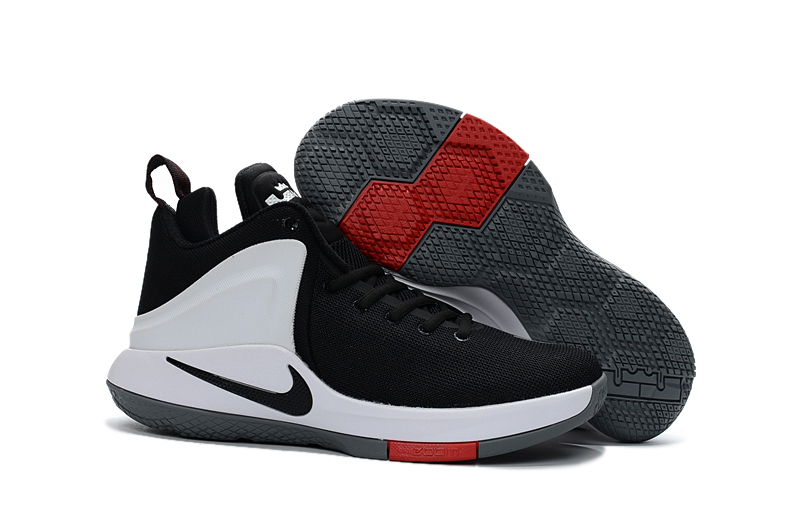 74c27afe9c1 Nike Zoom Witness EP Lebron James Black Red White Men Basketball ...