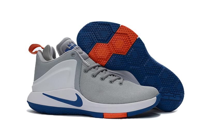 10fd2bbf9705 Prev Nike Zoom Witness EP Lebron James Grey Blue Men Basketball Shoes  884277-004. Zoom