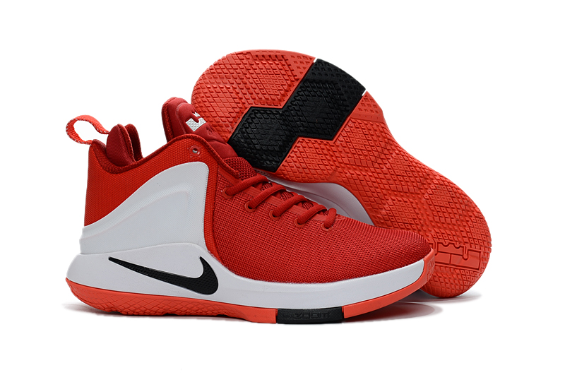 a10695786caf6 Nike Zoom Witness EP Lebron James Heart Of Lion Red Men Basketball ...