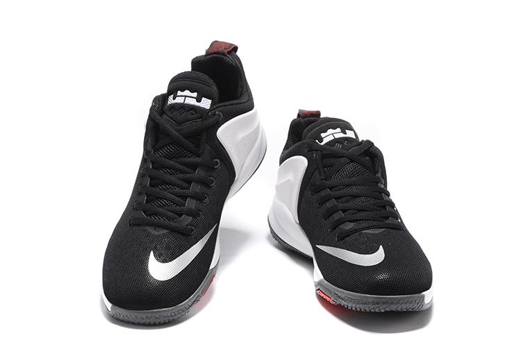 Nike Zoom Witness Lebron James Black White Basketball Shoes 852439-003