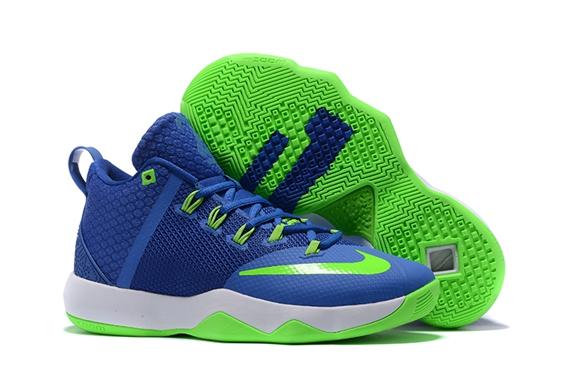 eeb37d280ac9 Prev Nike Ambassador IX 9 Blue Green White Men Basketball Shoes. Zoom