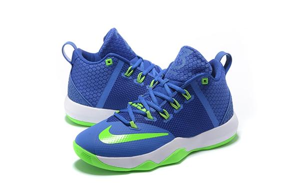 ea760bbb590c 9 Basketball Ix Ambassador Men Green White Febbuy Shoes Blue Nike EgqxWq1