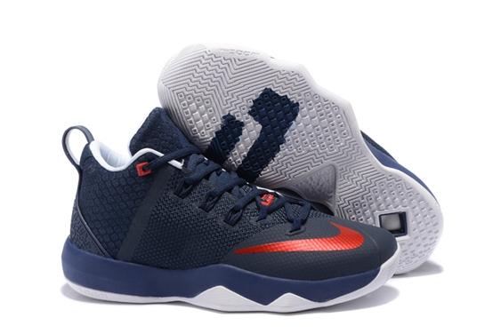 0ed8945ce3e5 Prev Nike Ambassador IX 9 Navy Blue Red White Men Basketball Shoes. Zoom