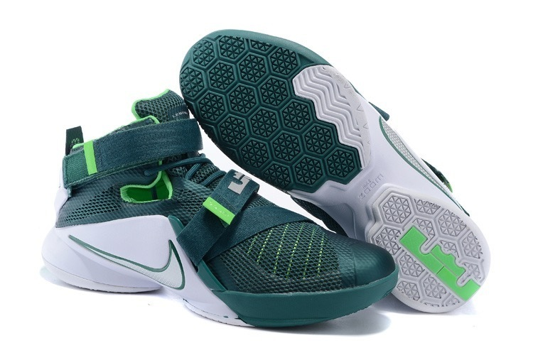 3a0f6aad51e4 Prev Nike Zoom Soldier 9 IX EP White Green Men Basketball Sneakers Shoes  749417-805. Zoom