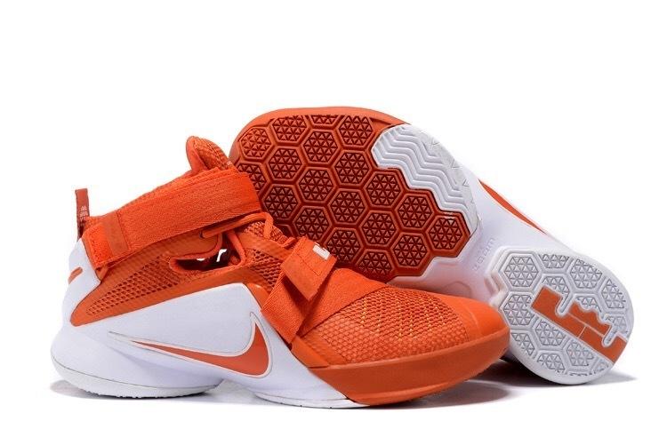 3258ee87ea3e ... Soldier 9 IX Orange White Men Basketball Sneakers Shoes 749417-600. Zoom