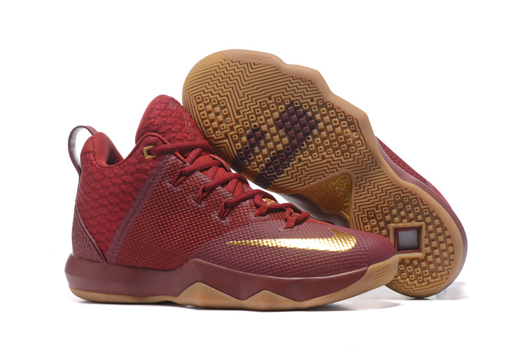 best authentic 8fce4 bb663 Nike Zoom Soldier 9 IX wine red Men Basketball Shoes 852413-676 - Febbuy