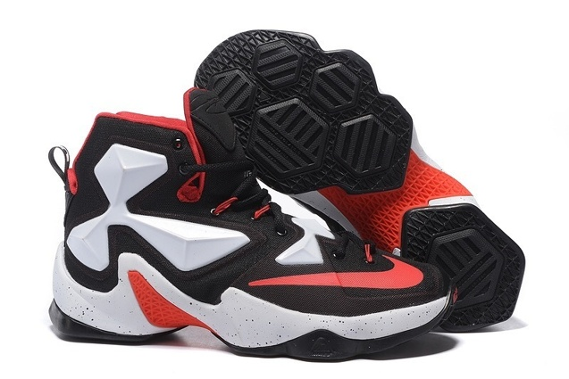 3e52c1342757 Prev Nike LeBron 13 EP XIII James Basketball Shoes Black White Red 823301