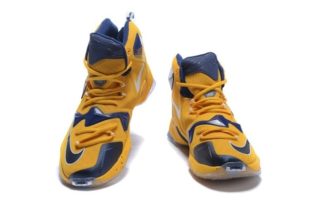 timeless design 17766 cdbb9 ... wholesale nike lebron 13 ep xiii james basketball shoes yellow dark  blue 823301 f3e0a 3b422