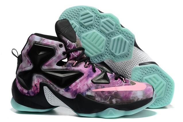 97ab538fc33e Nike Lebron XIII LBJ13 AS All Star Purple Green Black Men Basketball ...