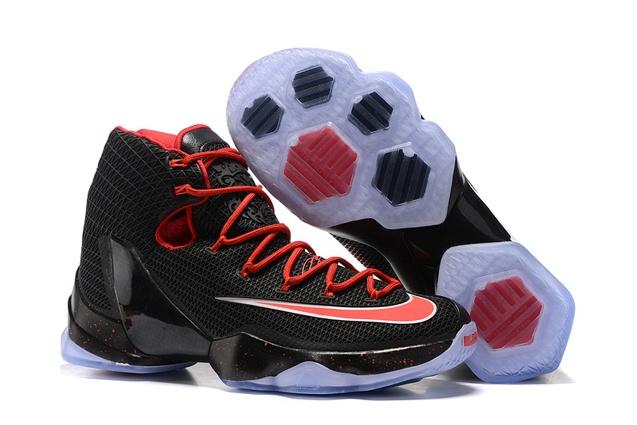new styles 1d5ef 02bce Prev Nike Lebron XIII Elite EP 13 James Black Red Men Basketball Shoes  831924. Zoom