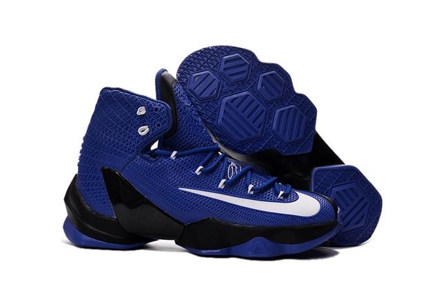 e4e47125f7e3 Prev Nike Lebron XIII Elite EP 13 James Blue Black White Men Basketball  Shoes 831924. Zoom