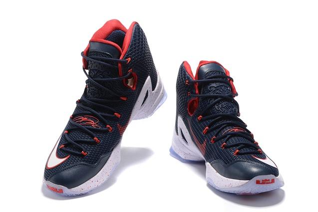 26360dad37e1 ... Nike Lebron XIII Elite EP 13 James Dark Blue Men Basketball Shoes  831924 ...
