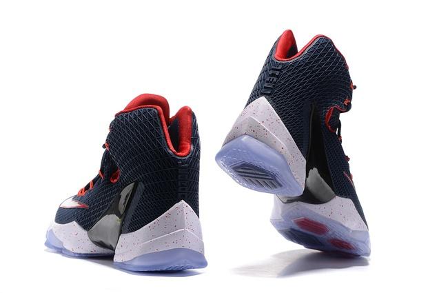 lowest price f8118 84721 ... Nike Lebron XIII Elite EP 13 James Dark Blue Men Basketball Shoes 831924