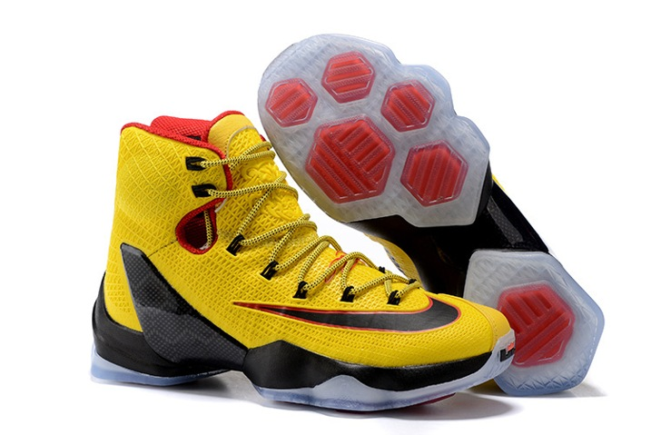 release date fbfcb 881a4 Prev Nike Lebron XIII Elite EP 13 James Men Basketball Shoes Yellow Black  Red 831924