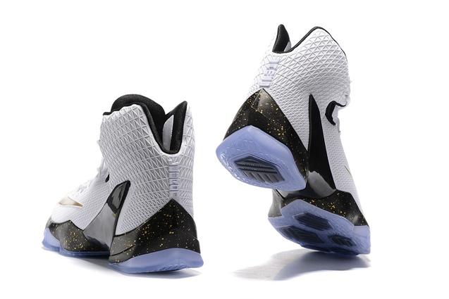 new styles 56c0d 372ad ... Nike Lebron XIII Elite EP 13 White Gold Men Basketball Shoes James  831924 170