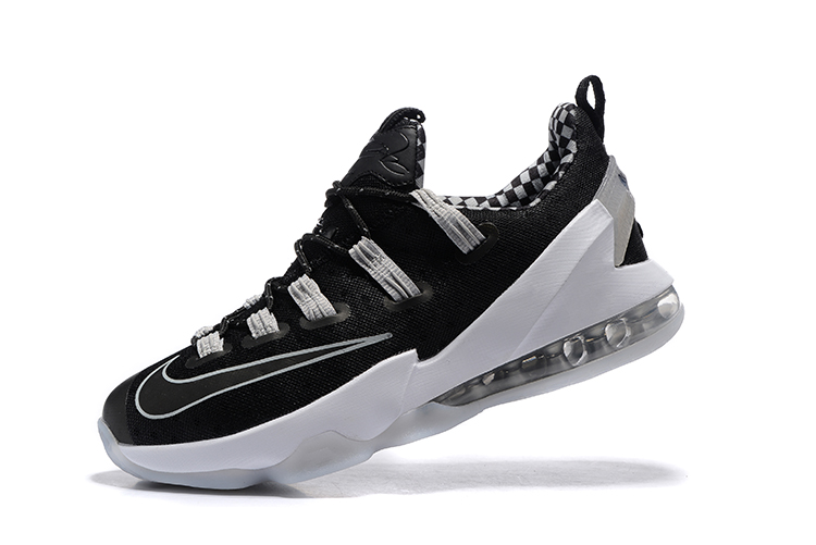 cheap for discount 89396 1cfc4 Nike Lebron XIII Low EP James 13 Black White Gray Men Basketball Shoes  831926 ...