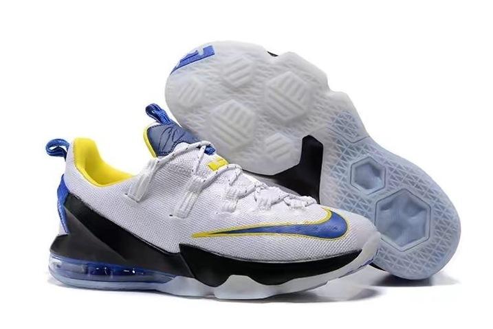 07ce2df8b60 Prev Nike Lebron XIII Low EP James 13 Men Basketball Shoes White Blue Black  ...