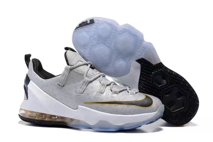 online store 74674 617c4 Prev Nike Lebron XIII Low EP James 13 Men Basketball Shoes Wolf Grey Black  Gold 831926