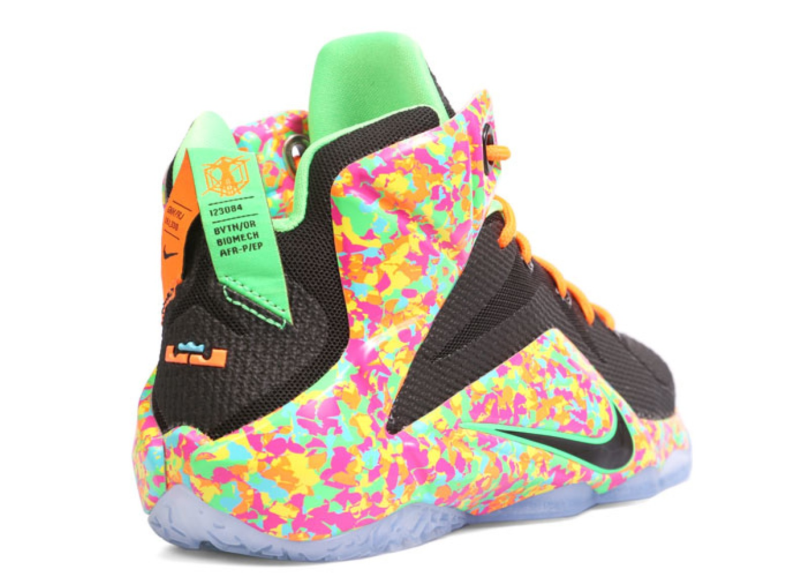 Lebron Fruity Pebbles Size 10 |Lebron 10 Fruity Pebbles