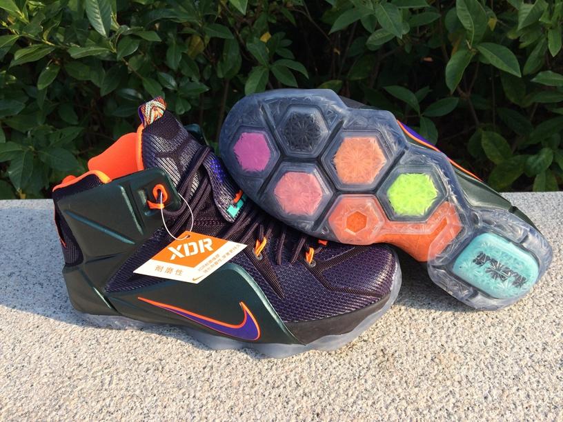 san francisco 8a9b5 73ced ... top quality prev nike zoom lebron xii 12 men basketball shoes purple  black orange. zoom