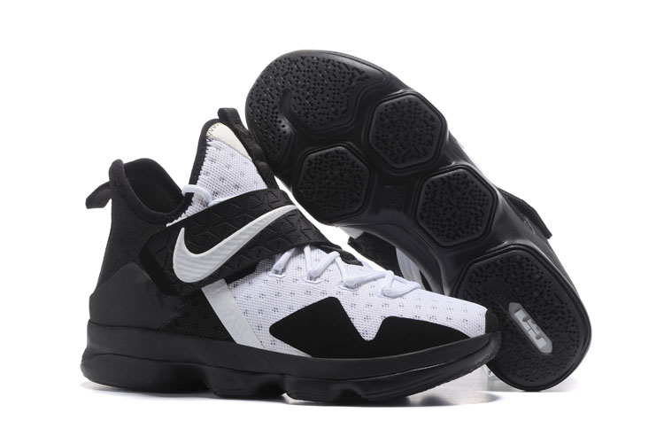 091f5050a9a Prev Nike Lebron XIV EP 14 Lebron James black white Men Basketball Shoes  921084-102. Zoom