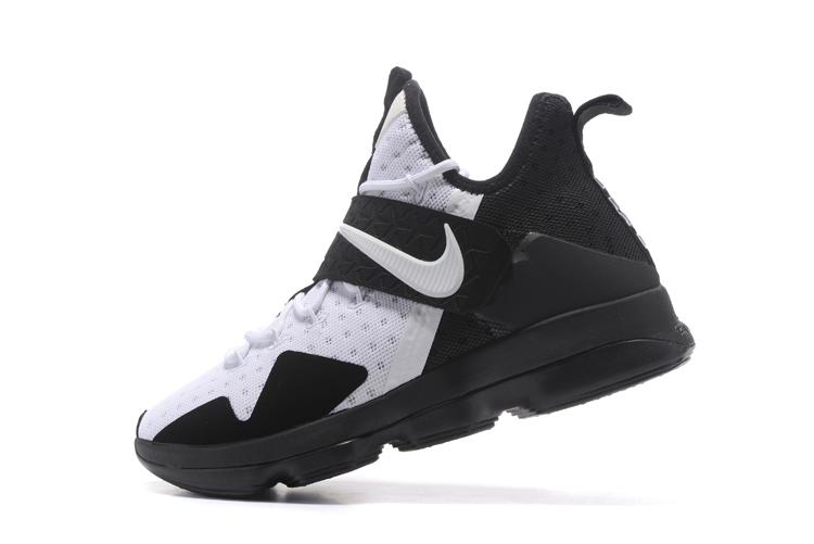 263c0d7172b ... Nike Lebron XIV EP 14 Lebron James black white Men Basketball Shoes  921084-102 ...