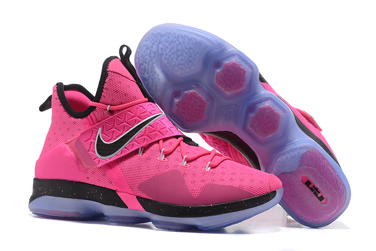 c3a5465a140 Nike Lebron XIV EP 14 Lebron James pink black Men Basketball Shoes ...