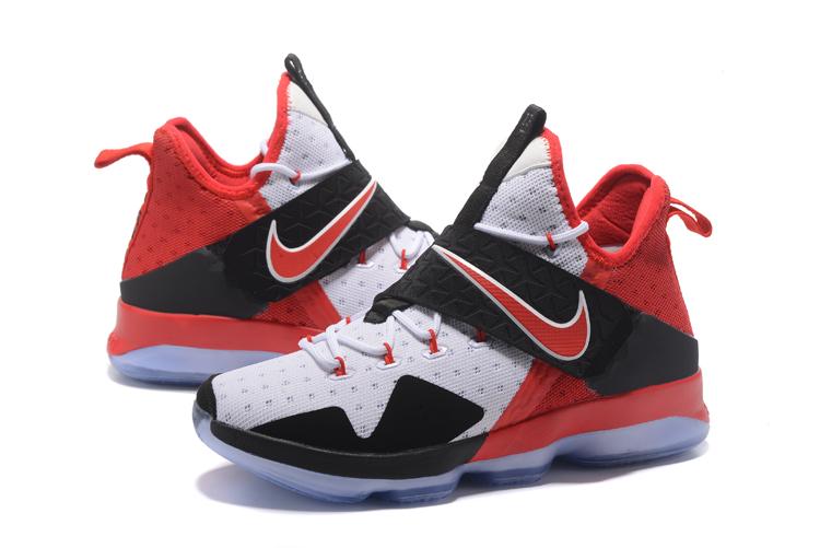 4d5f5a2d8ae6ce Nike Lebron XIV EP 14 Lebron James red black white Men Basketball Shoes  921084-106