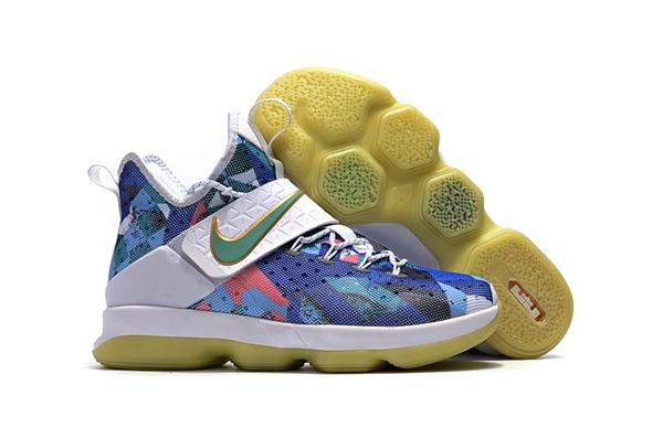 a526e8682f1a Prev Nike Zoom Lebron XIV 14 White Muit Color Blue Pink Green Unisex  Basketball Shoes SBR Glowing. Zoom