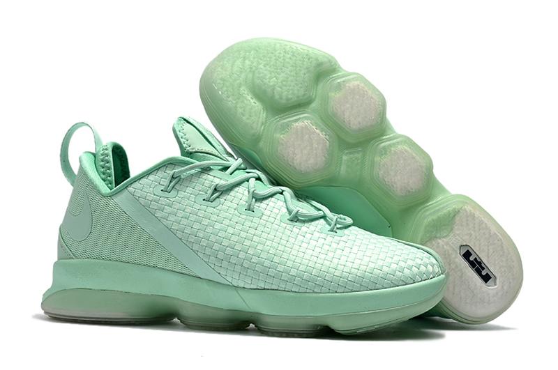 save off 11d93 46508 Prev Nike Zoom Lebron XIV 14 Low Men Basketball Shoes Light Green. Zoom