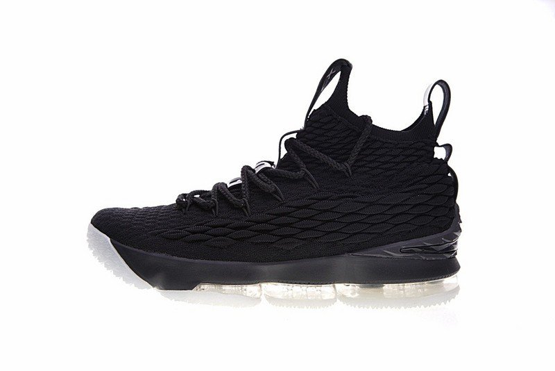 8ca43965e89 Prev Nike Lebron 15 Xv Pe Ohio State University Triple Black White  Basketball 897648-010. Zoom