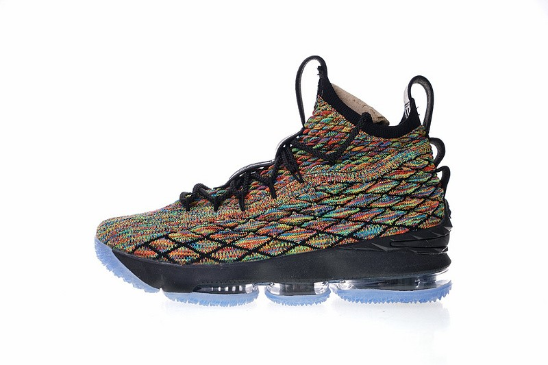 2a617a680b54 Prev Nike Lebron XV EP 15 Four Horsemen James Black Fruity Pebbles Men  AO1754-901. Zoom